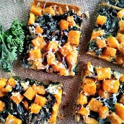 Picture of Butternut Squash & Kale Tart